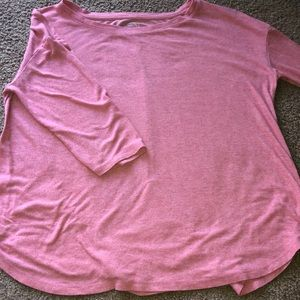 Maurices 3/4 Sleeve, Crew Neck Shirt